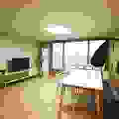 광교 서재형거실 홈스타일링(Kwanggyo APT) 모던스타일 거실 by homelatte 모던
