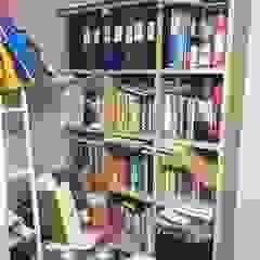 광교 서재형거실 홈스타일링(Kwanggyo APT) 모던스타일 서재 / 사무실 by homelatte 모던