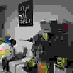 광교 서재형거실 홈스타일링(Kwanggyo APT) 모던스타일 아이방 by homelatte 모던