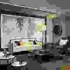 BESSIE Salas de estilo asiático de Kuro Design Studio Asiático