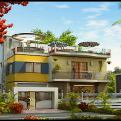 Dr. Suraj Country style garden by director4 Country