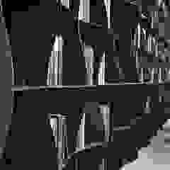 BandIt Design Locaux commerciaux & Magasins Fer / Acier Gris