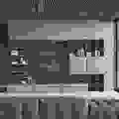 BandIt Design Salon moderne Fer / Acier Gris