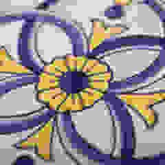 Azulejos Pintados à Mão Espaços comerciais rústicos por USER WAS DELETED! Rústico