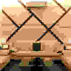 Azjatycki salon od Shadab Anwari & Associates. Azjatycki