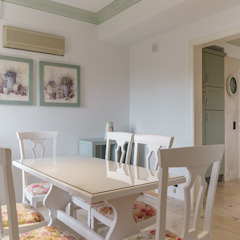 Rustic style dining room by Zenaida Lima Fotografia Rustic