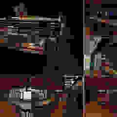 Rustic style dining room by juan olea arquitecto Rustic