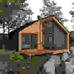 Scandinavian style houses by ESTUDIO BAO ARQUITECTURA Scandinavian