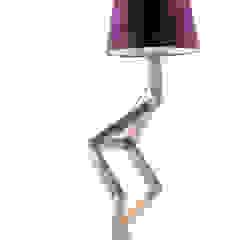 Cromalux Sistemas de Iluminação Ltda BedroomLighting Wood Purple/Violet