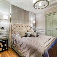 Chambre originale par Tony House Interior Design & Decoration Éclectique