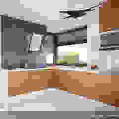 Modern style kitchen by Biuro Projektów MTM Styl - domywstylu.pl Modern