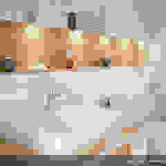 Modern style bathrooms by Biuro Projektów MTM Styl - domywstylu.pl Modern