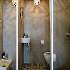 Appartement Amsterdam Industriële badkamers van Atelier09 Industrieel