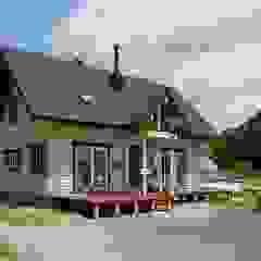 北欧カントリーのログハウス の ヤマミチ 北欧 木 木目調