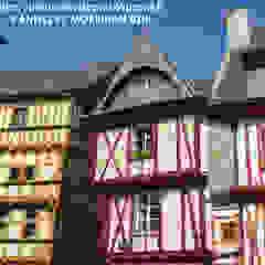 Janelas e portas coloniais por NetWorking Blog déco Colonial Madeira maciça Multicolor