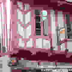 Janelas e portas coloniais por NetWorking Blog déco Colonial Compósito de madeira e plástico