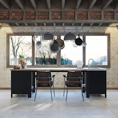Industrial style kitchen by Anton Medvedev Interiors Industrial