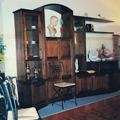 Soggiorni / Studio di Falegnameria Martinelli Sergio Moderno Legno Effetto legno