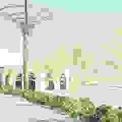 Campus Universitario - Parana - Brasile Studio la Piramide Architettura e Urbanistica Spa in stile tropicale