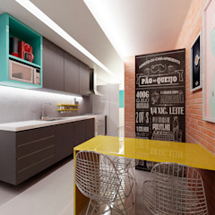 Modern kitchen by Poligonus Arquitetura Modern