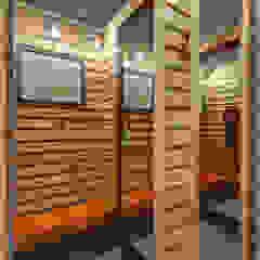 Phòng học/văn phòng phong cách hiện đại bởi RIMA Arquitectura Hiện đại