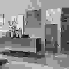 BandIt Design Sala de estarArmários e arrumação Ferro/Aço Metalizado/Prateado
