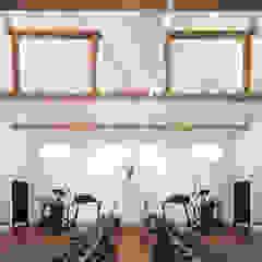 Mill House Ruang Olahraga Gaya Country Oleh Ayre Chamberlain Gaunt Country