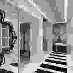 隨意取材風玄關、階梯與走廊 根據 Mimoza Mimarlık 隨意取材風