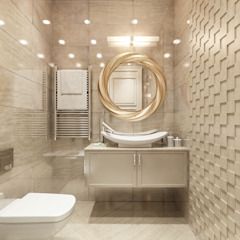 Baños de estilo clásico de Alexander Krivov Clásico Azulejos