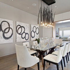 Waterfall Estate Ideas Minimalist dining room by GSI Interior Design & Manufacture Minimalist