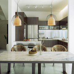 Waterfall Estate Ideas Modern dining room by GSI Interior Design & Manufacture Modern