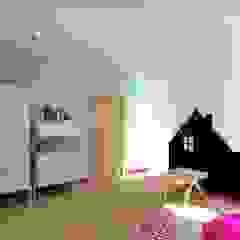 Aranżacja wnętrz domu Nowoczesny pokój dziecięcy od Free Form Pracownia Architektoniczna Nowoczesny