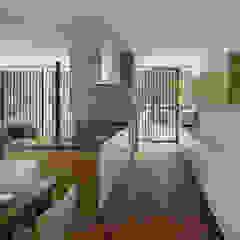 038那須Fさんの家 モダンな キッチン の atelier137 ARCHITECTURAL DESIGN OFFICE モダン MDF