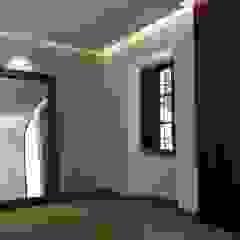Reforma de vestíbulo y aseos en Cortijo de celebraciones Salones de eventos de estilo moderno de Rubí & Del Árbol_arquitectos Moderno