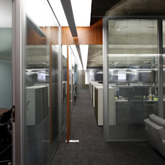 Piratininga Arquitetos Associados Modern commercial spaces