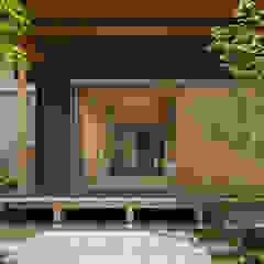 아시아스타일 창문 & 문 by AMI ENVIRONMENT DESIGN/アミ環境デザイン 한옥