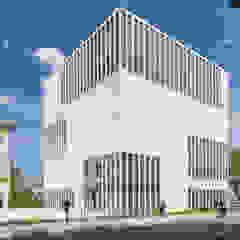 SICHTKREIS.COM Architekturfotografie Berlin Minimalist museums Concrete White