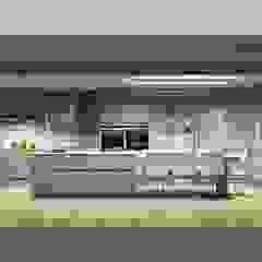 Amplitude - Mobiliário lda Modern kitchen MDF Beige