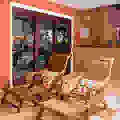 Balcon, Veranda & Terrasse rustiques par Andréa Spelzon Interiores Rustique