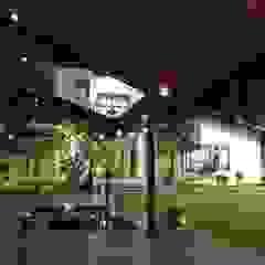 Kasliwal bungalows Minimalist garage/shed by 4th axis design studio Minimalist