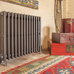 Urban chic radiator designs Feature Radiators Living roomFireplaces & accessories