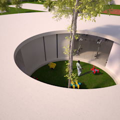 PARQUE DE JOGOS 01_ANGOLA_2012 Estádios minimalistas por PFS-arquitectura Minimalista