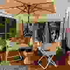 HOME OFFICE DEL FOTÓGRAFO - EXPODECO 2016 Jardines de estilo moderno de ARKILINEA Moderno