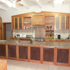 GreenCube Design Pty Ltd Country style kitchen Wood
