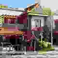 Azjatyckie domy od Vinyaasa Architecture & Design Azjatycki