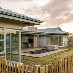 Jardines de estilo minimalista de CA Architects Minimalista