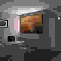 Villa privata Sala multimediale moderna di Silvana Barbato, StudioAtelier Moderno