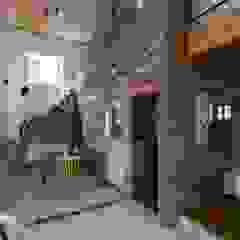 Uji House ラスティックデザインの ダイニング の ALTS DESIGN OFFICE ラスティック 木 木目調