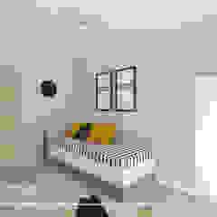 Nowoczesny i minimalistyczny projekt domu Rustykalny pokój dziecięcy od All Design- Aleksandra Lepka Rustykalny
