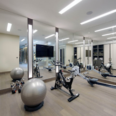 Chelsea Townhouse Classic style gym by nu:builds Classic
